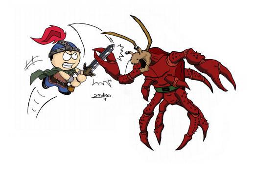 Stan the Warrior VS Crab People