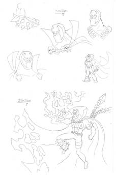 Spawn sketches Compilation