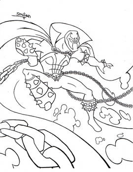 Spawn Lineart