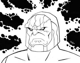 Darkseid Lineart