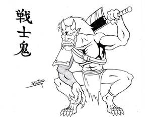 Warrior Oni