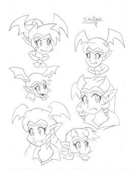 Shantae Succubus Form Hairstyles