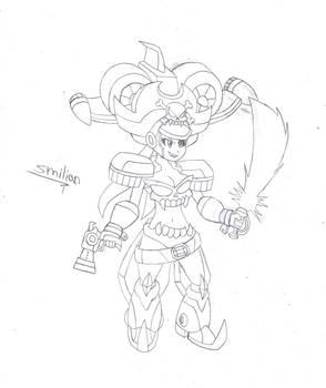 Risky Boots Armor Sketch