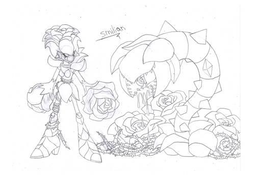 Torching Gardenia concept art