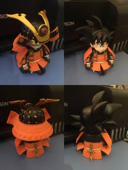 Goku Samurai Armor Comparison