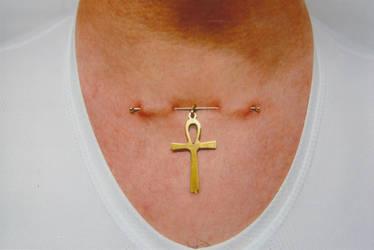 Piercing surface croix de vie