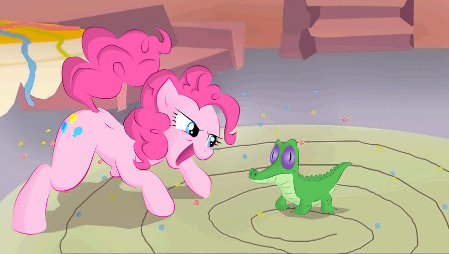Pinkie and Gummy by Realider