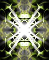 Illuminated wave by CraftC