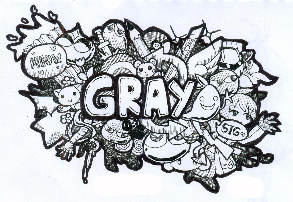 Doodle Art - Gray by Gray-Zakuro on DeviantArt
