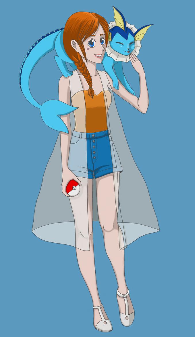Grown Up Misty from Pokemon by Tailzie