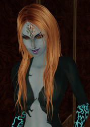 My Midna Sim - Looking sexy by Simdrew1993