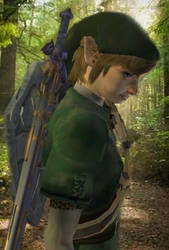 Link Version 3 - Link In A Forest - (Outdated) by Simdrew1993