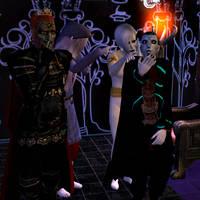 Zelda Villains Laughing - Sims 2 - Simdrew1993 by Simdrew1993