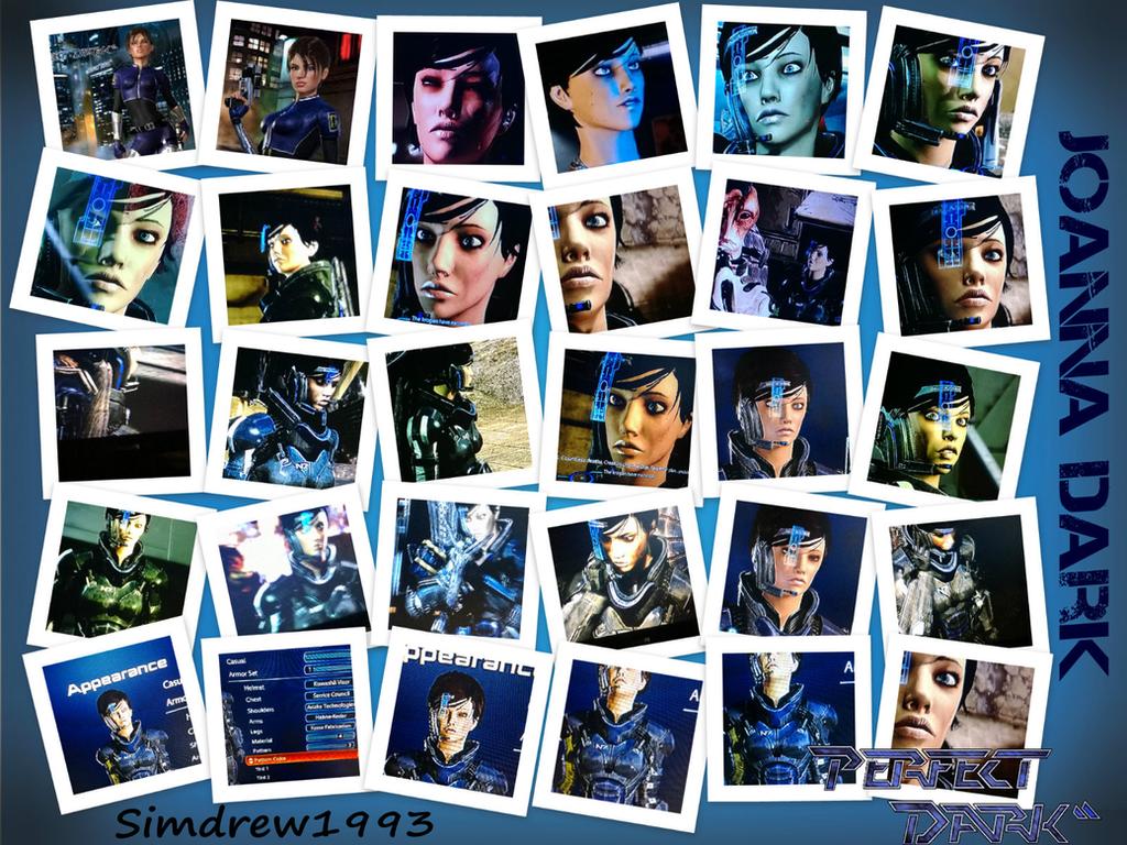 Mass Effect 3 - Perfect Dark's - Joanna Dark by Simdrew1993