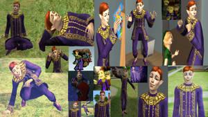 Zelda's Happy Mask Salesman - Simdrew1993 by Simdrew1993