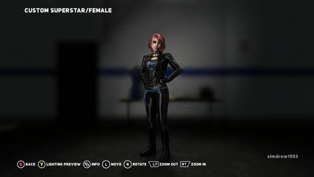 Joanna Dark from Perfect Dark Zero in WWE 2K18