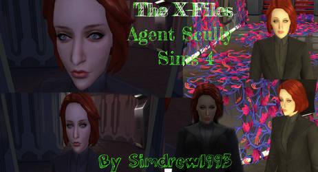 Agent Dana Scully - Sims 4 - Simdrew1993 by Simdrew1993