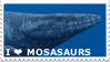 Mosasaurs Stamp