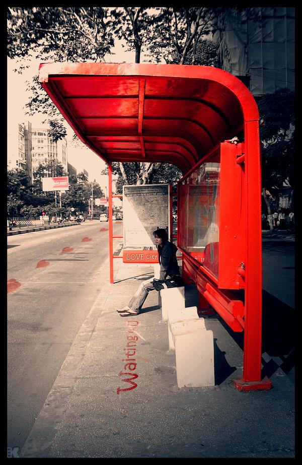 Bus station. by MHKK