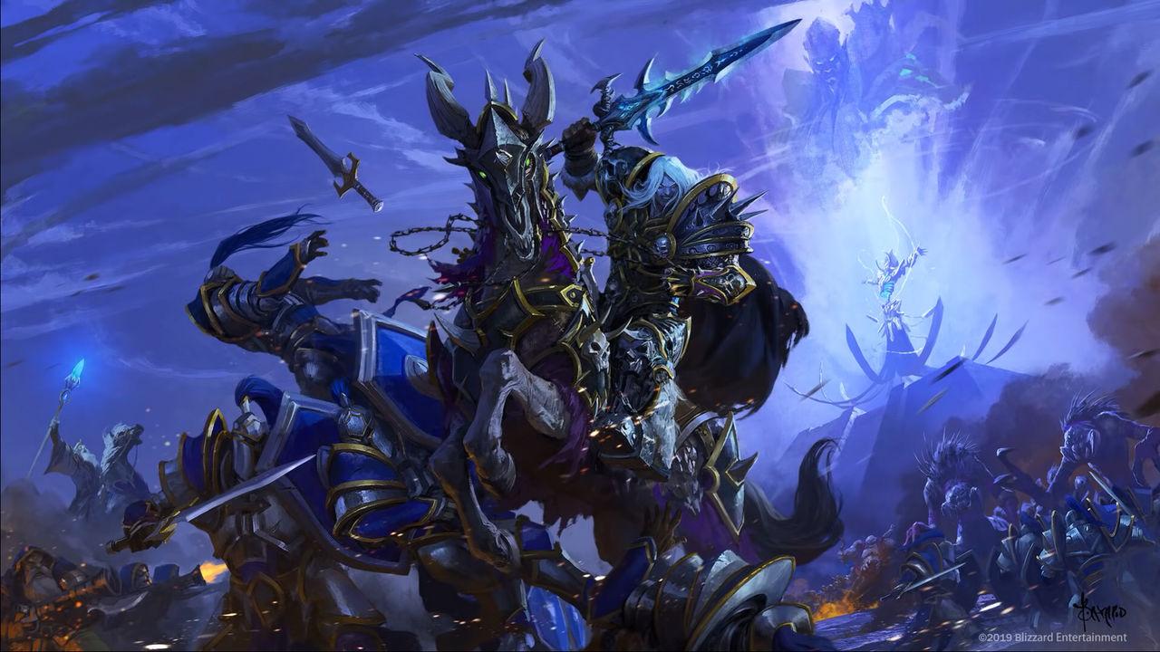 Warcraft 3 Reforged Death Knight Arthas By Venom Rules All On