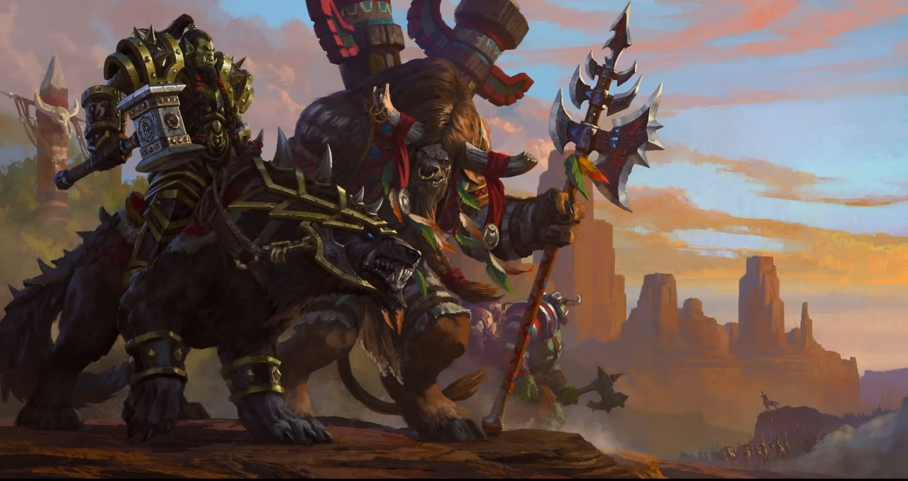 Warcraft 3 Reforged Thrall And Cairne By Venom Rules All On