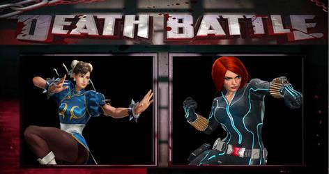MVC Death Battle: Chun-Li Vs Black Widow.