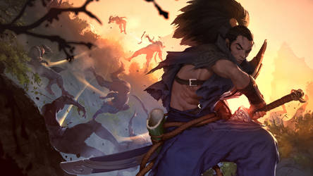 Legends Of Runeterra: Yasuo.
