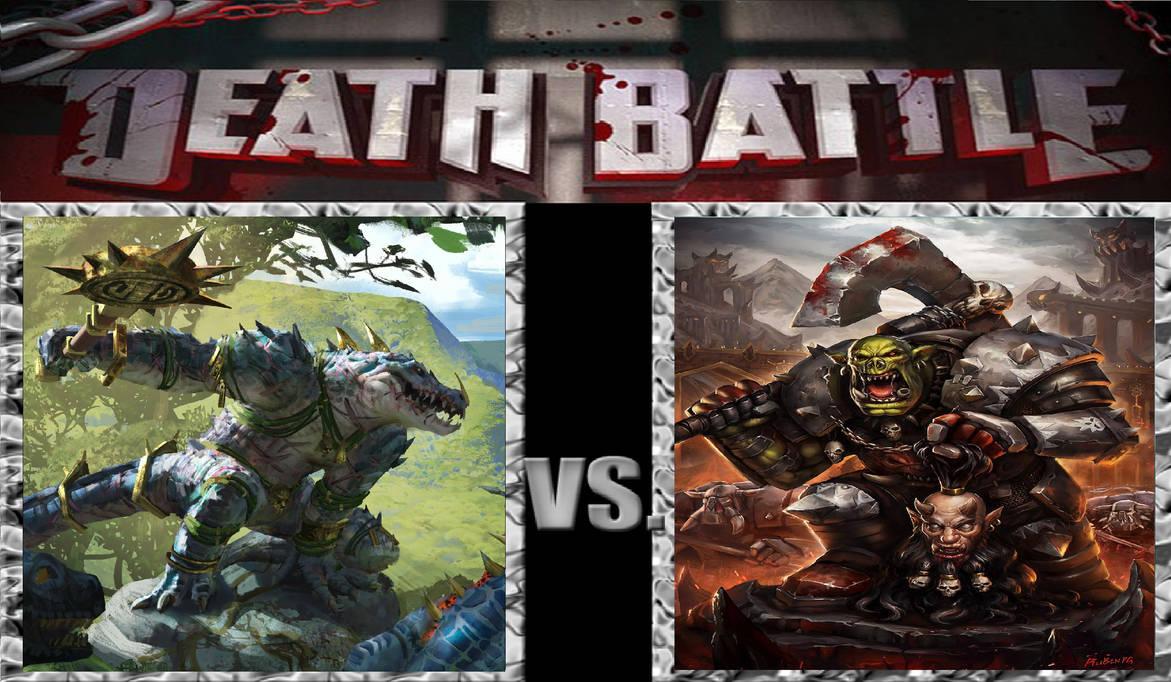 Death Battle Warhammer Nakai Vs Grimgor By Venom Rules All On Deviantart When catastrophe threatens their existence. death battle warhammer nakai vs