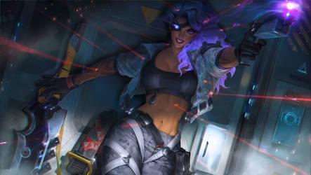 League of Legends: PsyOps Samira.