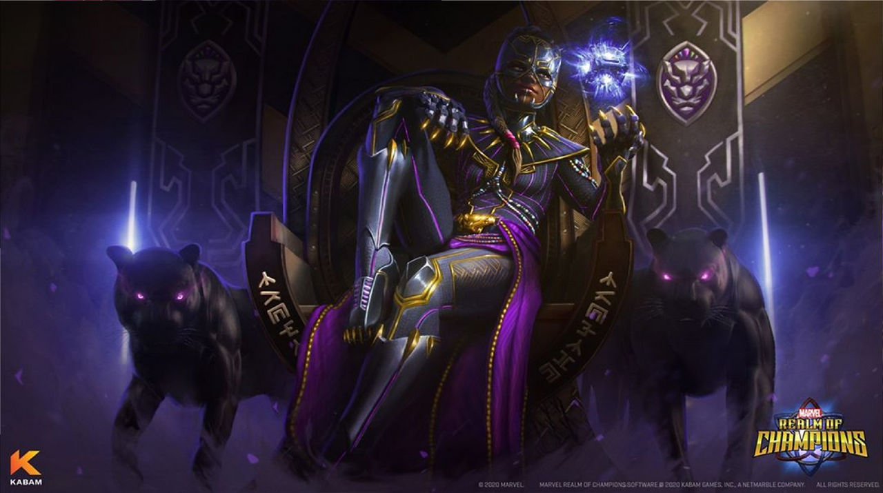 Marvel Realm of Champions: Queen Shuri. by Venom-Rules-all on DeviantArt
