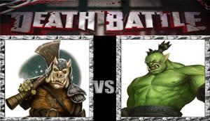Death Battle Idea: Gamorrean Vs Orc.