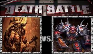 Death Battle Idea: Barbarian Vs Fel Orc.