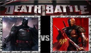 Death Battle DC: Flashpoint Batman Vs Deathstroke.