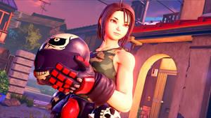 Street Fighter 5: Akira Kazama.