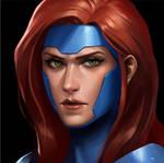Marvel Future Fight: Jean Grey.