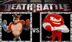 Death Battle Idea: Crunch Vs Knuckles.