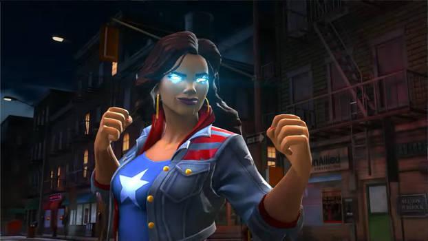 Marvel Contest of Champions: America Chavez.