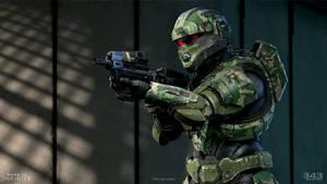 Halo Infinite: Soldier Spartan Armor.