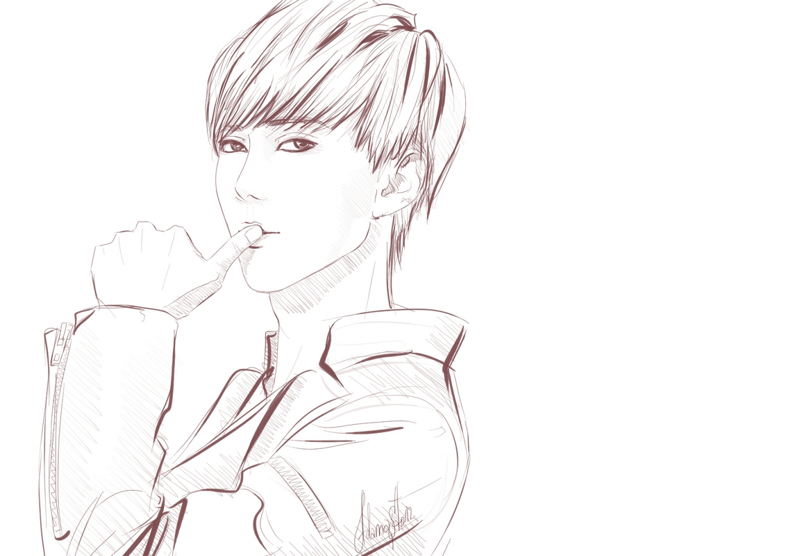 exo fanbase coloring pages - photo#30