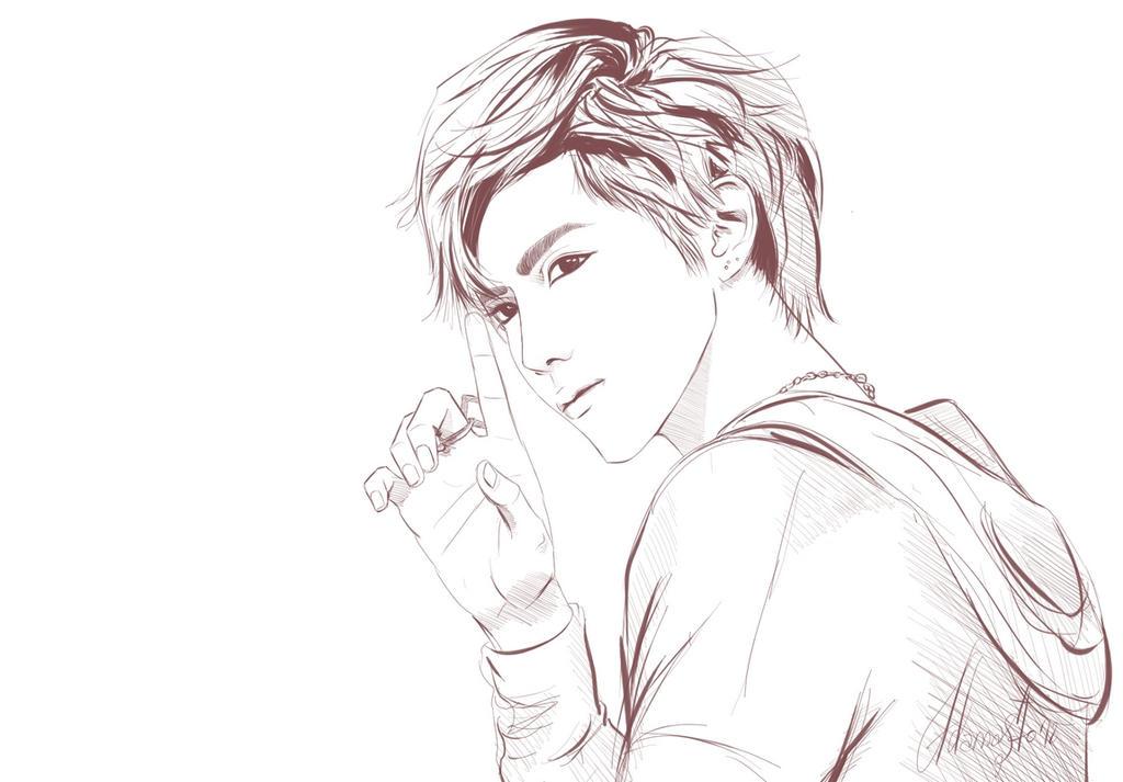 Kris - EXO-M 2 by AdamaSto