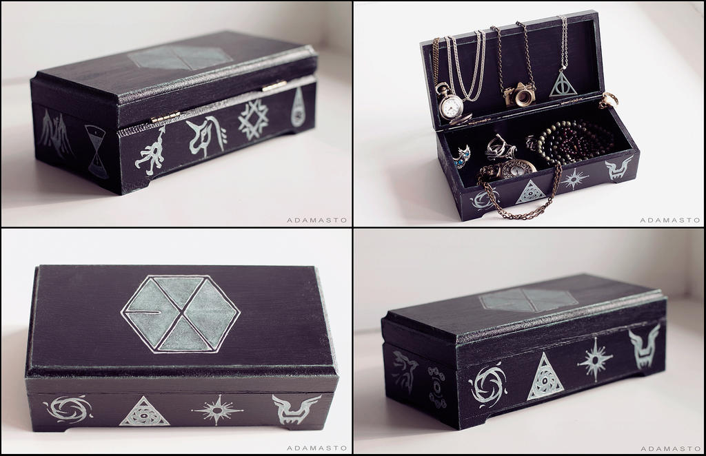 Jewelry box - EXO by AdamaSto