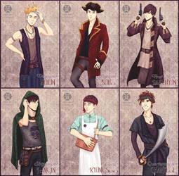 EXO-K - Pirates by AdamaSto