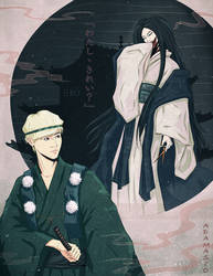 EXO YnS - Suho and Kuchisake-onna by AdamaSto