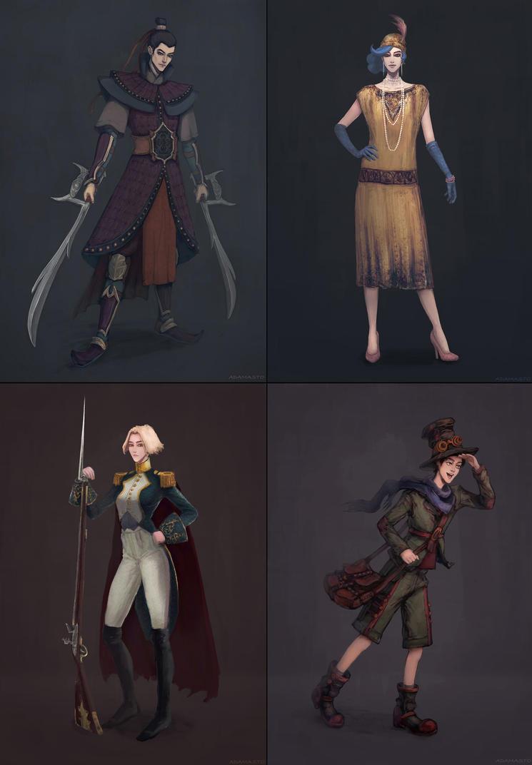 Weekly Character Design Challenge : Characters design challenge by adamasto on deviantart