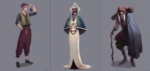 Characters Design Challenge 9