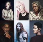 Portrait studies 2