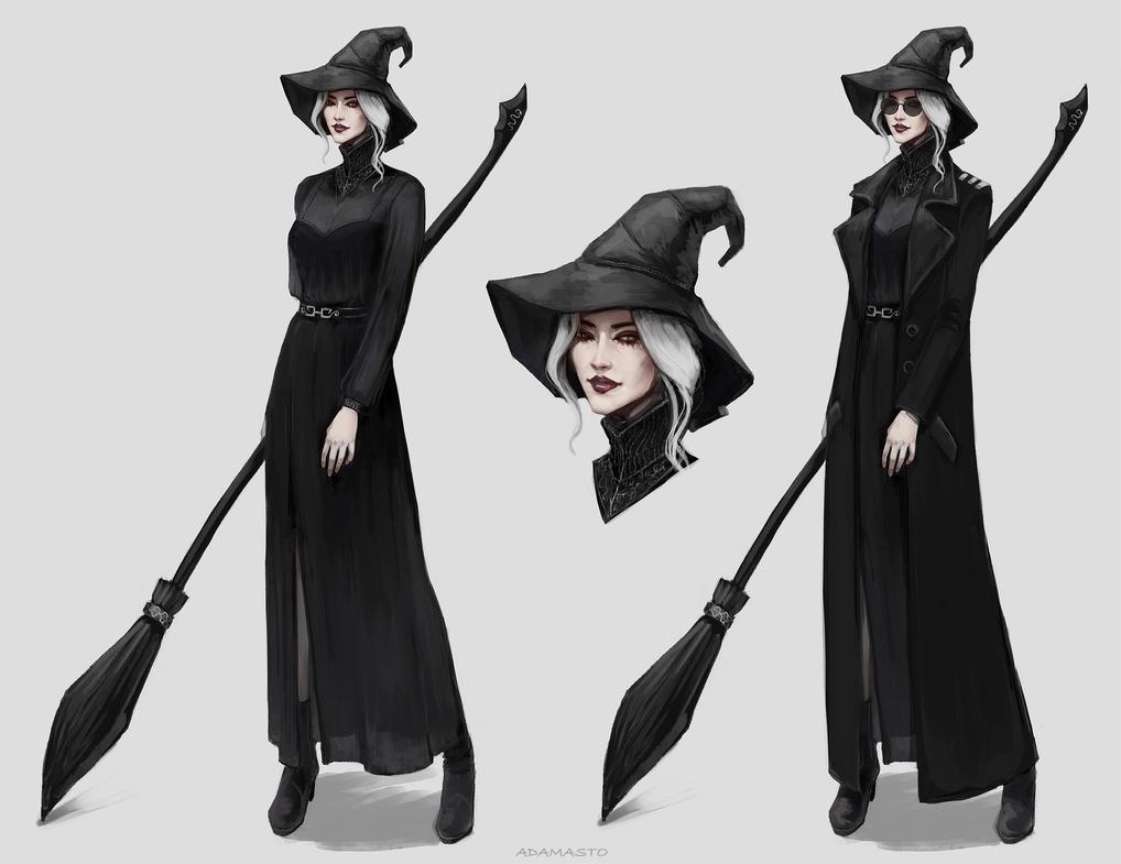 Modern Witch Dresses