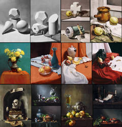 Still life studies 2 by AdamaSto