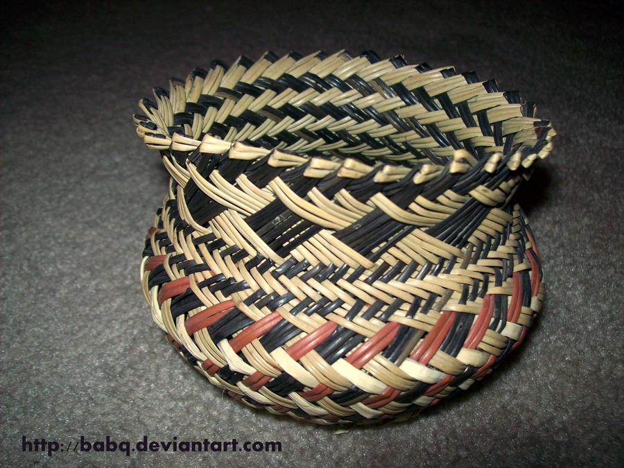 Woven Basket Art : Woven basket by babq on deviantart