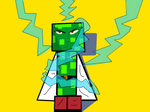 One Punch Creeper Angry